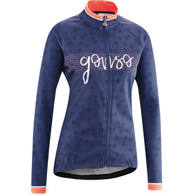 Gonso Julienne Full-Zip LS Jersey Women medieval blue
